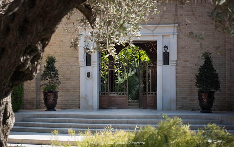 מתחם הכניסה והשער - טוסקנה בכפר שמריהו