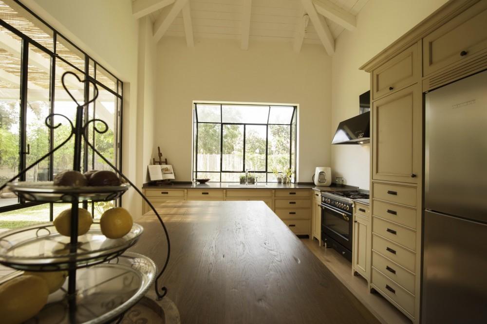 חלון bay במטבח - בית סיגל דקל