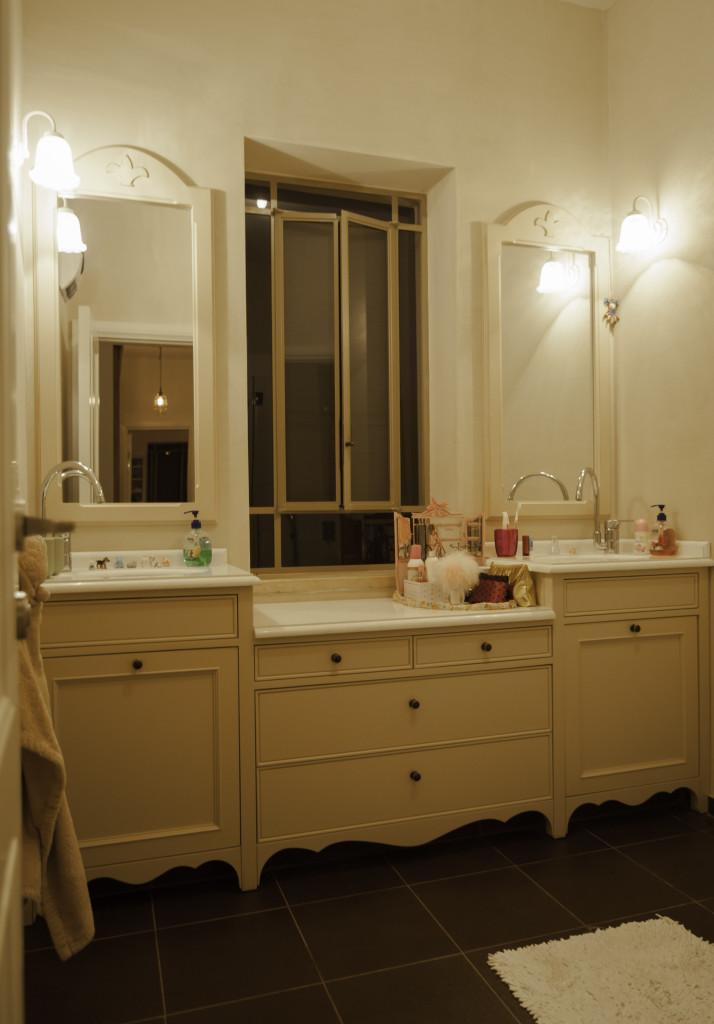 חלון פרופיל בלגי ברזל בחדר הרחצה – ארטפרו בית עדי