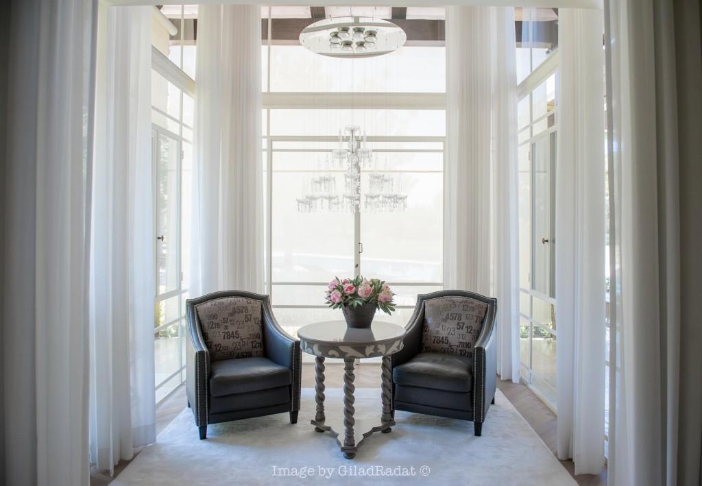 חדר שמש ממתין לחתן ולכלה – פרוייקט אחוזה ביישובי גדרות - ארטפרו