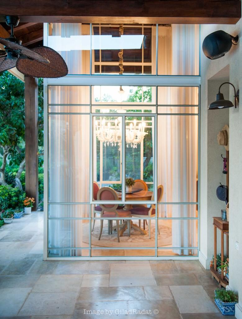 חדר שמש מבט מבחוץ – פרוייקט אחוזה ביישובי גדרות - ארטפרו
