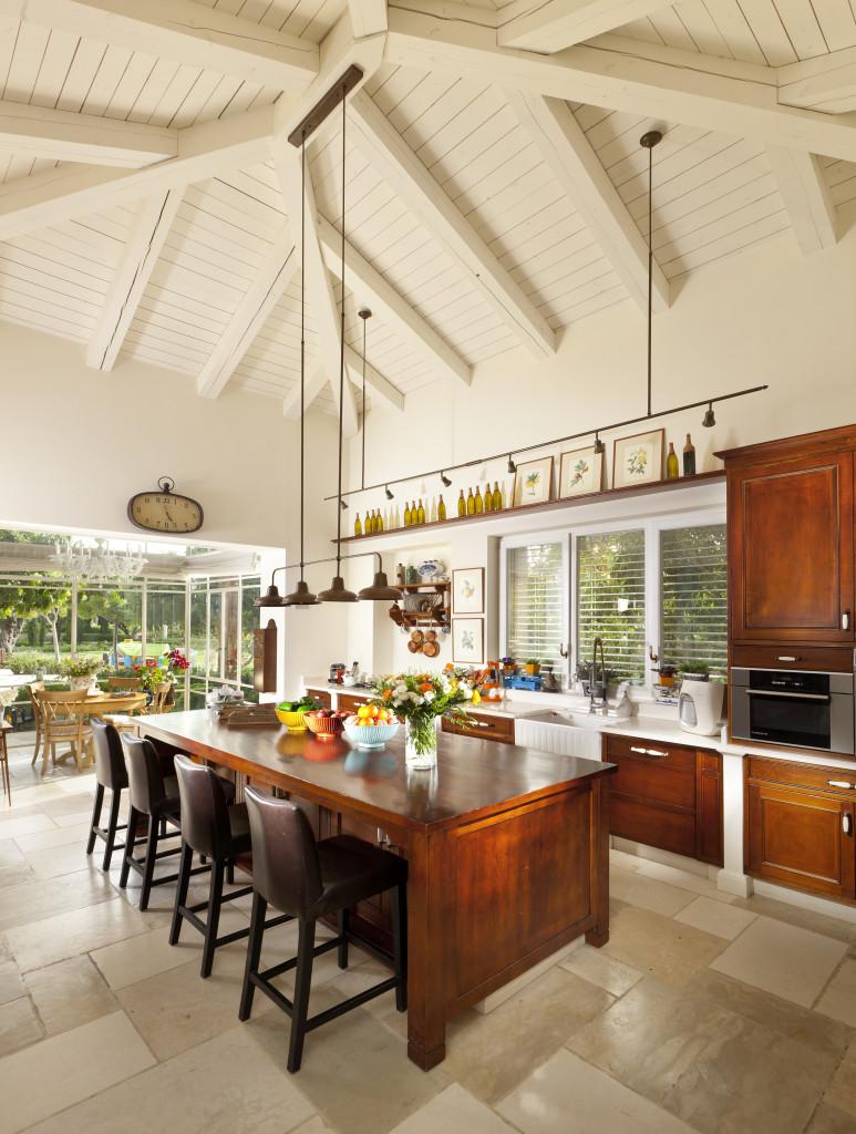חדר שמש צמוד למטבח – פרוייקט אחוזה ביישובי גדרות - ארטפרו