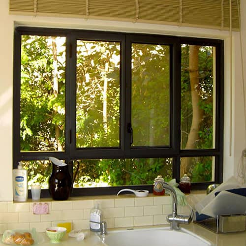 חלונות אלומיניום וברזל