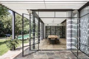 חלונות פרופיל בלגי בבית מדהים