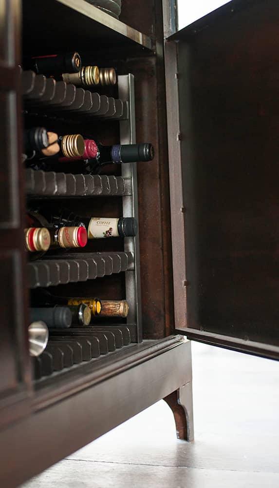 ארון המשקאות – פרט - ארטפרו בית בסביון